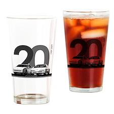 Cute 20th anniversary Drinking Glass