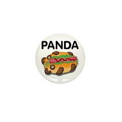 Panda Mini Button (10 pack)