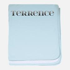 Terrence Carved Metal baby blanket