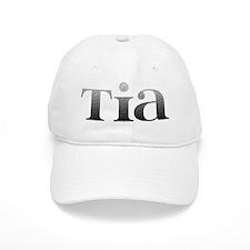 Tia Carved Metal Baseball Cap