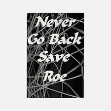 Rectangle Magnet/save roe black