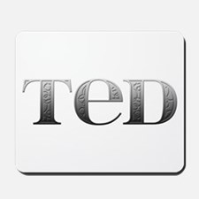 Ted Carved Metal Mousepad