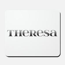 Theresa Carved Metal Mousepad