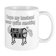 BBQ husband smoking Mug