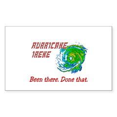 Hurricane Irene Been There Sticker (Rectangle)
