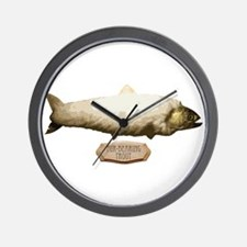 Fur-Bearing Trout Wall Clock