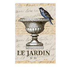 FRENCH GARDEN Postcards (Package of 8)