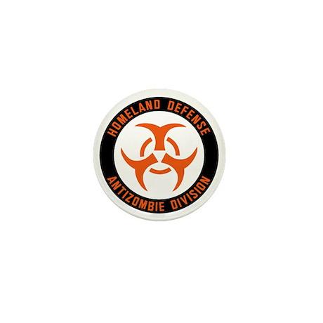 Anti Zombie Division Mini Button