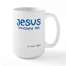 Jesus Touched Me Mug