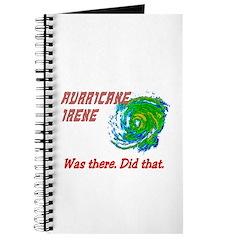 Hurricane Irene Was There Journal