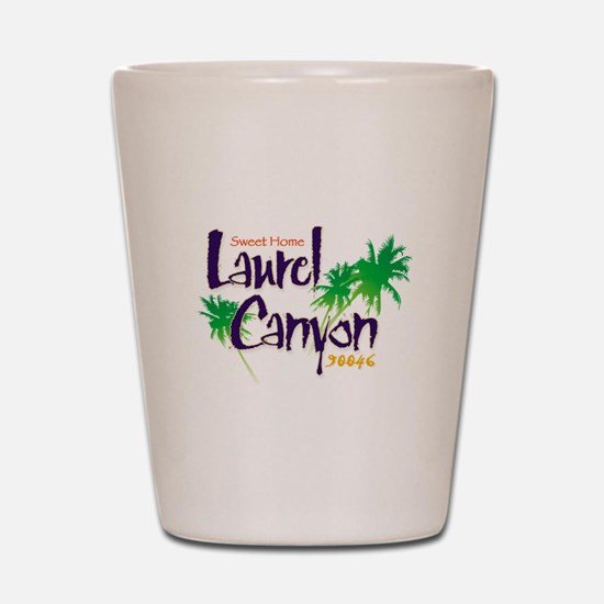 Sweet Home Laurel Canyon Shot Glass