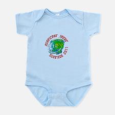 Hurricane Irene Survivor Infant Bodysuit