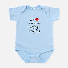 I love MY Uncle (Polish) Infant Bodysuit