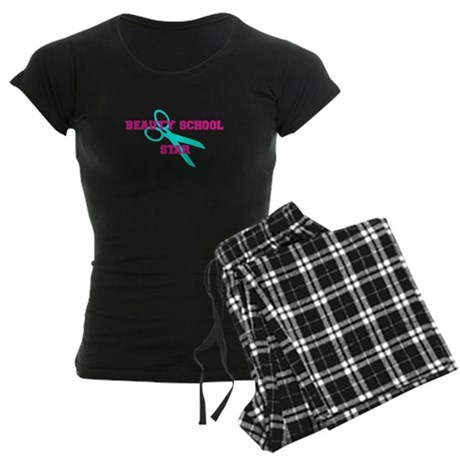 Beauty School Star Women's Dark Pajamas