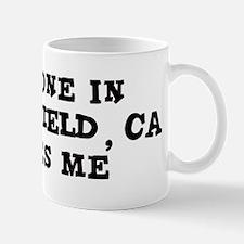 Someone in Bakersfield Mug