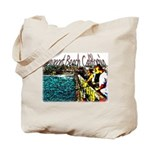 Newport beach pier fishing Tote Bag