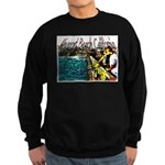Newport beach pier fishing Sweatshirt (dark)