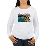 Newport beach pier fishing Women's Long Sleeve T-S