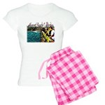 Newport beach pier fishing Women's Light Pajamas