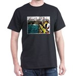 Newport beach pier fishing Dark T-Shirt