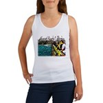 Newport beach pier fishing Women's Tank Top