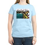 Newport beach pier fishing Women's Light T-Shirt