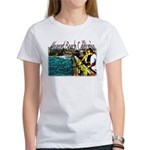 Newport beach pier fishing Women's T-Shirt