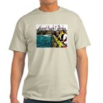Newport beach pier fishing Light T-Shirt