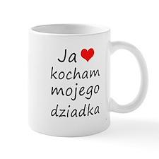 I love MY Grandpa (Polish) Mug