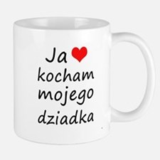 I love MY Grandpa (Polish) Mug