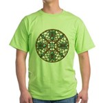 Turquoise Copper Dreamcatcher Green T-Shirt
