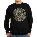 Turquoise Copper Dreamcatcher Sweatshirt (dark)