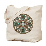 Turquoise Copper Dreamcatcher Tote Bag