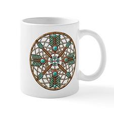 Turquoise Copper Dreamcatcher Mug