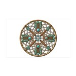Turquoise Copper Dreamcatcher 38.5 x 24.5 Wall Pee