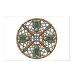 Turquoise Copper Dreamcatcher Postcards (Package o