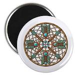 Turquoise Copper Dreamcatcher Magnet