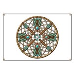 Turquoise Copper Dreamcatcher Banner