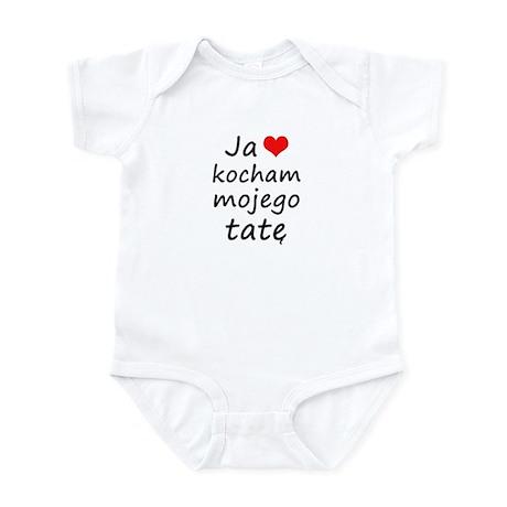 I love MY Dad (Polish) Infant Bodysuit