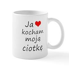 I love MY Aunt (Polish) Mug