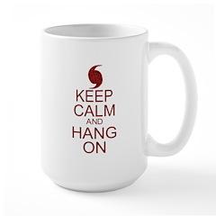 Hurricane Irene Keep Calm Parody Mug