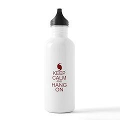 Hurricane Irene Keep Calm Parody Water Bottle