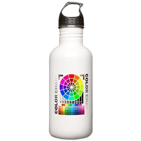 Color chart Stainless Water Bottle 1.0L