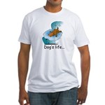 Dog's Life Fitted T-Shirt