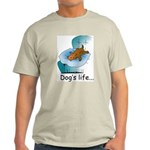 Dog's Life Ash Grey T-Shirt