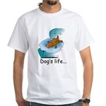 Dog's Life White T-Shirt