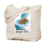 Dog's Life Tote Bag