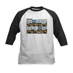 2L0056 - A quick decision Kids Baseball Jersey