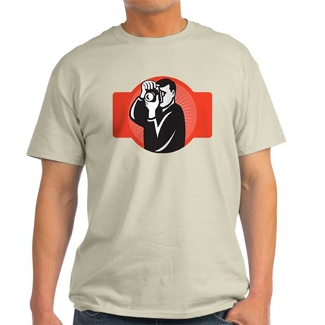 photographer dslr camera Light T-Shirt