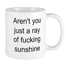 ray of sunshine Small Mug